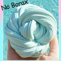 DCCKU7Q Kids toy Fluffy Floam Slime Scented Stress Relief No Borax Kids Clay Toy Vent clay toys drop shipping