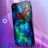 iPhone 4/4S/5/5S/5C, Samsung Galaxy S3/S4, htc One X/x+/S Case, iPod Touch 4/5 The Mermaid Song
