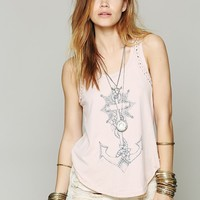 Free People We The Free Witch Craft Graphic Tank