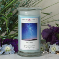 Starry Nights Jewelry Candle