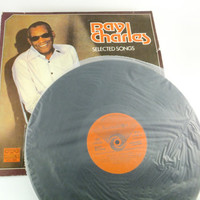 Ray Charles Vinyl Record Selected Songs Record Album Music Volume Greatest Hits