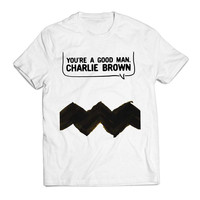 Youre A Good Man Charlie Brown Cartoon Clothing T shirt Men