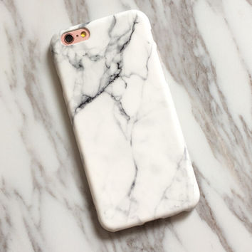 Unique Marble Case for iPhone X XS MAX 8 7S 6S Plus  +Gift Box