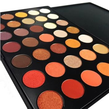 35 Color Shimmer And Matte Eyeshadow Palette, Limited Edition