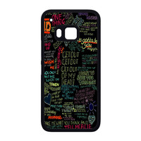 one direction song HTC One M9 Case