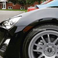 Fits FR-S / BRZ / T86 Front Reflector Overlay Tint / Decals