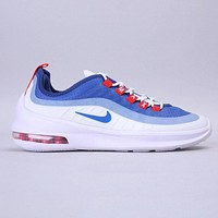 Nike Air Max xis New fashion hook couple sports leisure shoes  Blue&White