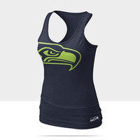 Check it out. I found this Nike Big Logo Tri-Blend (NFL Seahawks) Women's Tank Top at Nike online.