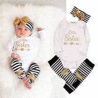 Baby Girl Clothes -Bodysuit Romper - Kids Clothing