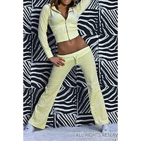 WOMAN TRACKSUIT SAM YELLOW