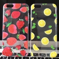 Hot Deal Iphone 6/6s On Sale Stylish Hot Sale Cute Fruits Iphone Soft Apple Phone Case [6034116353]