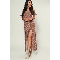 Katelyn Maxi Dress (Mauve)