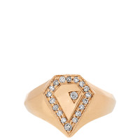 Diamond & yellow-gold ring | Jacquie Aiche | MATCHESFASHION.COM US