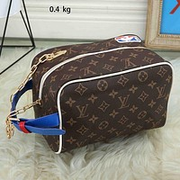 LV Louis Vuitton fashion new square cosmetic bag handbag shopping bag