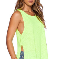 LNA High Slit Tank in Yellow