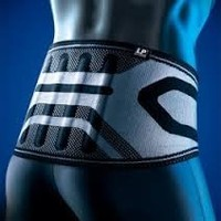 LP XTREMUS Pro-Athlete Back Brace - for injury prevention & support (Small)
