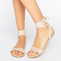 ASOS FIONA Tie Leg Sandals at asos.com