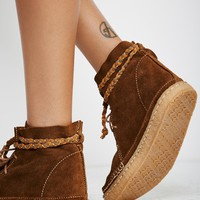 Free People Argo Lace Up Boot