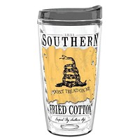 Don't Tread on Me 16oz Tumbler by Southern Fried Cotton