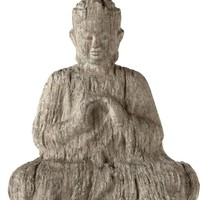 Faux Driftwood Buddha | Decorative Accessories | Home Accents | Decor | Z Gallerie