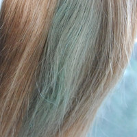Mint Temporary Hair Dye - 4 oz Recycled Jar