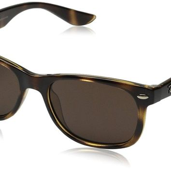Ray-Ban Junior Wayfarer Sunglasses in Havana RJ9052S 152/73 47