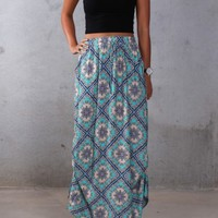 Mint Maxi Skirt - Skirts - Shop by Product - Womens