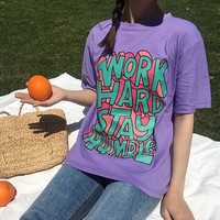 Work Hard Stay Humble Graphic T-Shirt