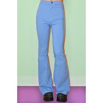 Ziggy Extra Wide Flare Pants - Sky Blue