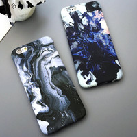 fashion phone marble case for iPhone 7 7 plus iphone 5 5s SE 6 6s 6 plus 6s plus + Nice gift box