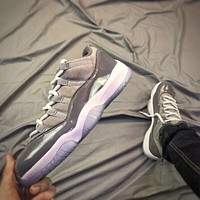 Air Jordan 11 Retro Aj11 Low Cool Grey