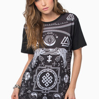 Life Clothing Symbology Tee $40
