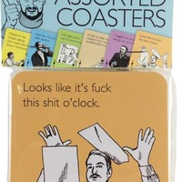 Someecards Uncensored Assorted Coasters - 6 Pack