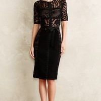 Byron Lars Carissima Sheath in Black Size: