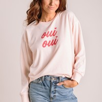 Lori Oui Oui Graphic Sweatshirt