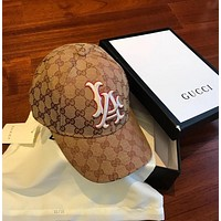 GUCCI Baseball hat with LA Yankees™ patch