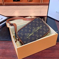 LV women's camera bag shoulder bag