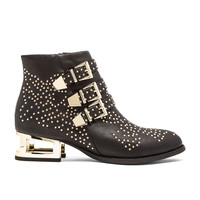 Jeffrey Campbell Combust embellished Bootie in Black & Gold