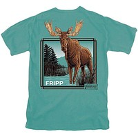 Bucket List Moose Tee by Fripp Outdoors