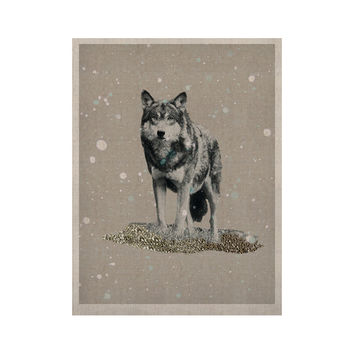 """Monika Strigel """"Wolf"""" KESS Naturals Canvas (Frame not Included)"""