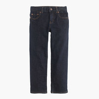 crewcuts Boys Straight Jean In Wrinkle Rinse Wash