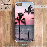 Beach iPhone 4 Case, Pastel iPhone 5 Case, Clouds iPhone 4s Case, Nautical iPhone Cover, Silicone Rubber iPhone Case, Plastic iPhone Case