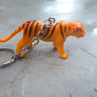 Free Shipping Tiger Keychain