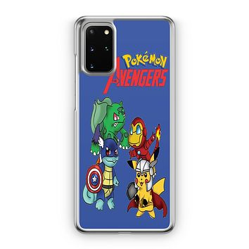 Pokemon Anime Cartoon All 8 Gym Badges 2 Samsung Galaxy S20 Case