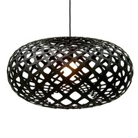 David Trubridge - Stained Kina Pendant Lamp