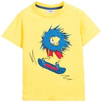 Boys 'Monster' Skateboard Tee