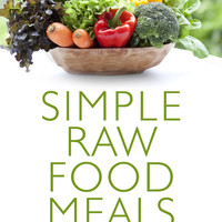 Raw Food Low Fat Recipes e-book