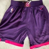 Minnesota Timberwolves Basketball Shorts Purple City