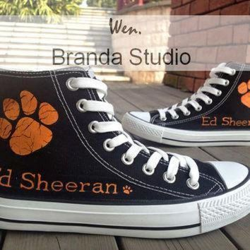 DCCK8NT ed sheeran shoes kids studio hand painted shoes 45 99usd paint on custom converse shoe