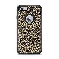 The Small Vector Cheetah Animal Print Apple iPhone 6 Plus Otterbox Defender Case Skin Set